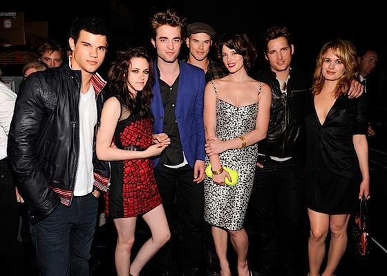 Spotkanie z Robertem Pattinsonem,Taylorem Lautnerem,Kristin Stewart i innymi gwiazdami zmierzchu.