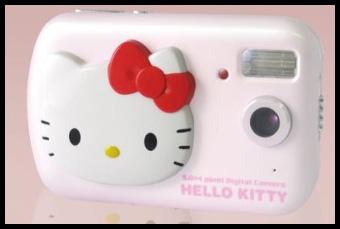 Różowy aparat