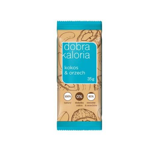 Baton Dobra Kaloria kokos i orzech