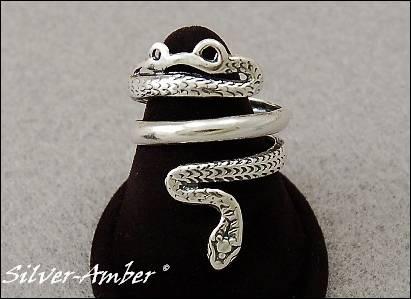 pierścionek wąż