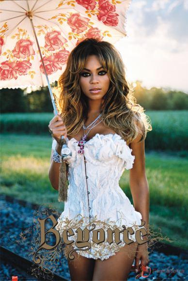 Plakat z Beyonce! :P