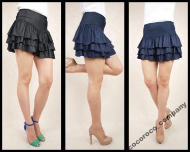 -50% SALE WYSOKI PAS spódniczka spódnica S i M