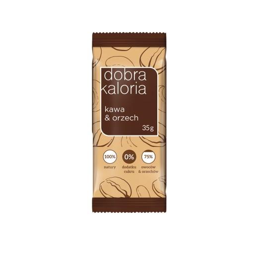 Baton Dobra Kaloria kawa i orzech