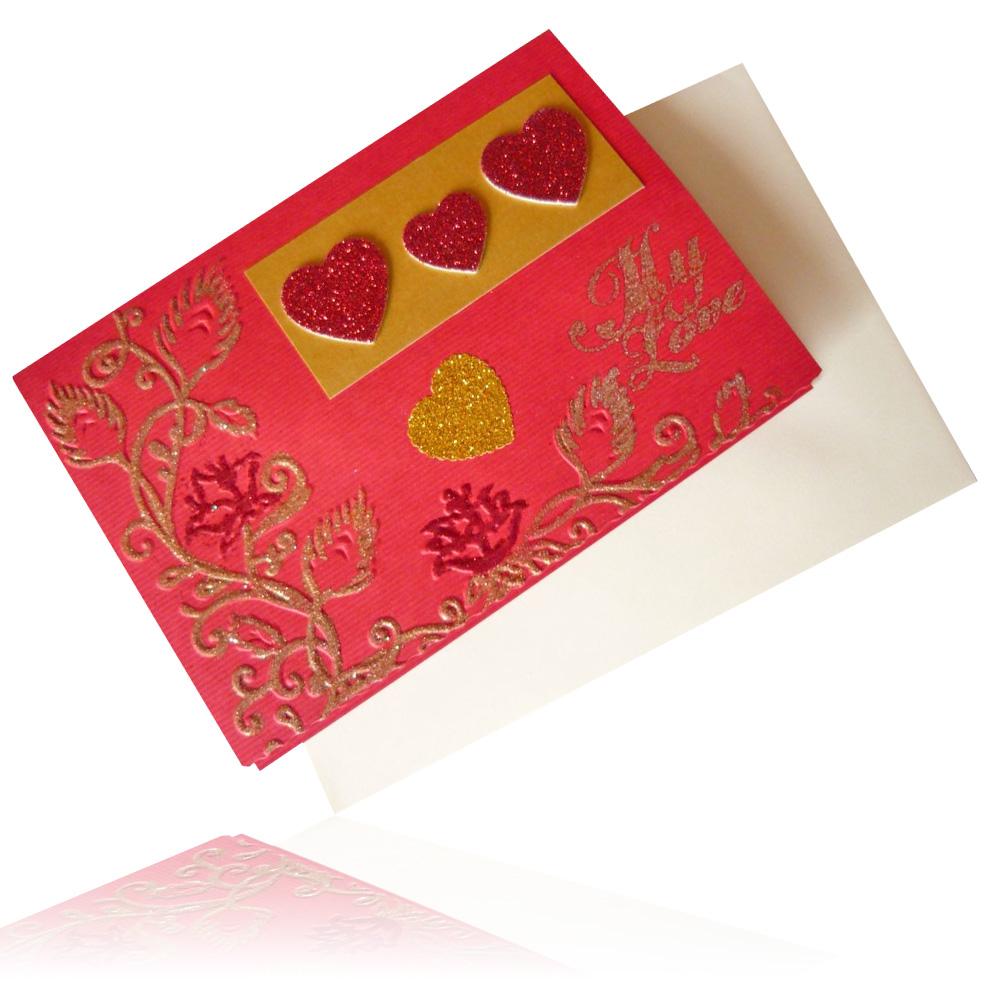Kartka walentynkowa 2