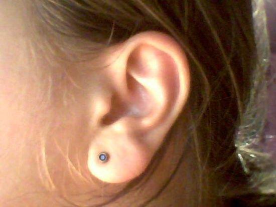 Dziurki w uszach