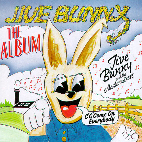 winyl Jive Bunny-c'c'come on everybody