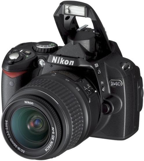 Lustrzanka cyfrowa Nikon D40