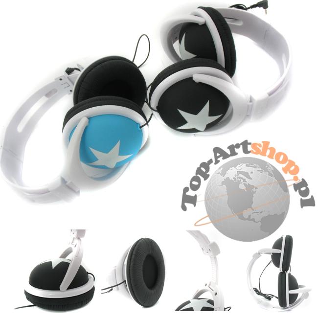 Słuchawki Stereo Gwiazdka