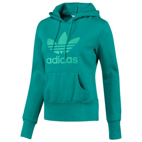 Adidas Trefoil Hoodie green