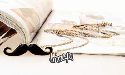 Naszyjnik WĄSY Mustache Japan Style