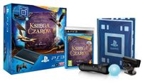 Konsola Playstation 3 + kamera + PlayStation Move + Księga Czarów(PS3)