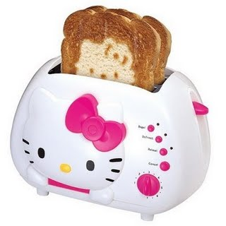 toster z Hello Kitty