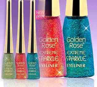 brokat eyeliner - Golden Rose (482528916) - Aukcje internetowe Allegro