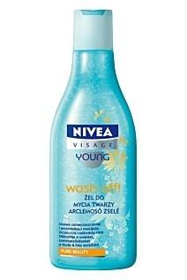 Nivea Visage Young, Wash Off, Żel do mycia twarzy