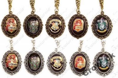NASZYJNIK Harry Potter medalion kamea różne wzory