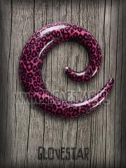spirala PANTERKA różowa
