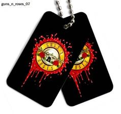 Nieśmiertelnik Guns n Roses 07