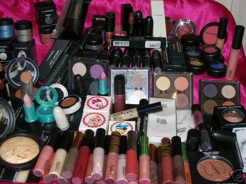 Duuuużo kosmetyków
