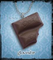 czekoladka naszyjnik