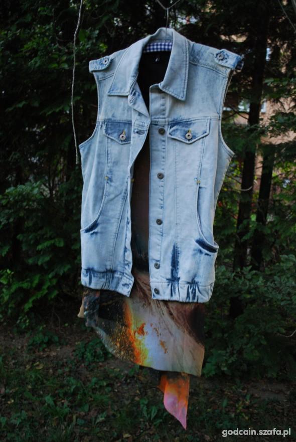 Kamizelka jeans Vila