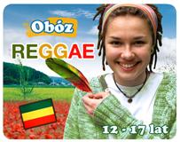 Obóz REGGE - bębny Bob Marley i my! Rege, reggae