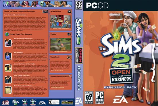 The sims 2 własny biznes