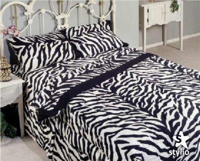 Pościel zebra/panterka
