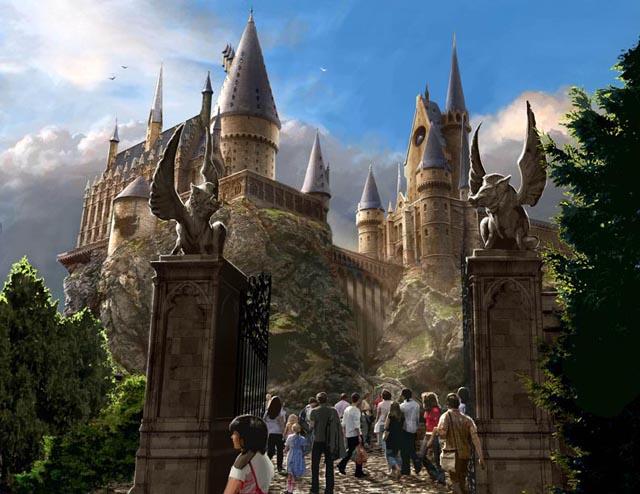 Dzień w The Wizarding World of Harry Potter