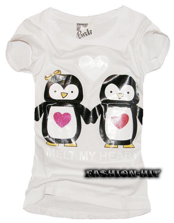 Koszulka z pingwinami XD