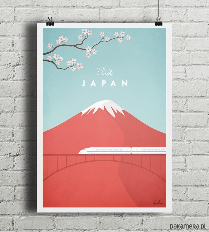 Japonia - vintage plakat B2