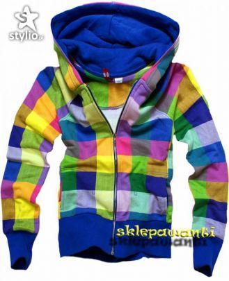 Bluza kolorowa
