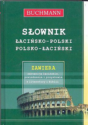 słownik polsko-łaciński / łacińsko-polski