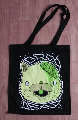 Drop Dead Kitty Tote Bag