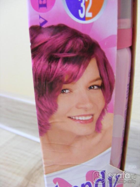 Różowa pianka do włosów