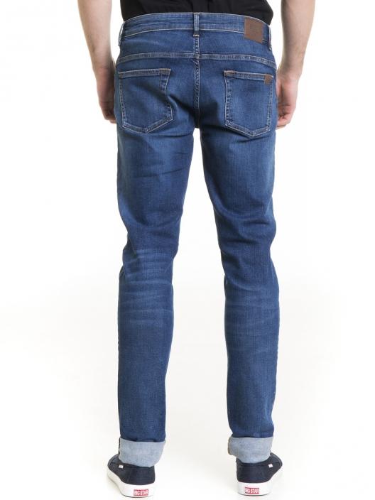 Niebieskie jeansy męskie