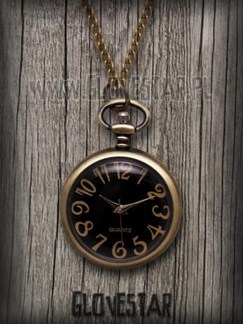 Naszyjnik zegarek kapelusznika