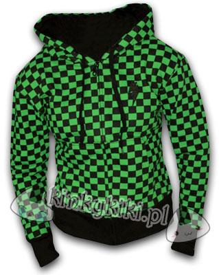 bluza szachownica GREEN