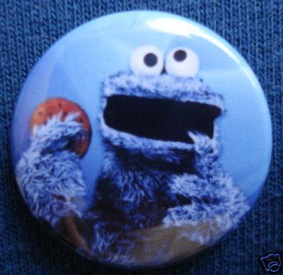 Ciasteczkowy Potwór - plakietka