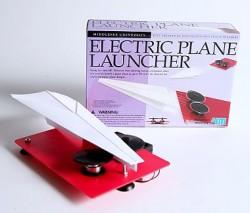 Elektryczna wyrzutnia papierowych samolotów