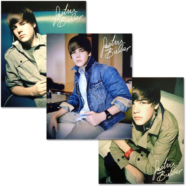 3 plakaty z Justinem ;)