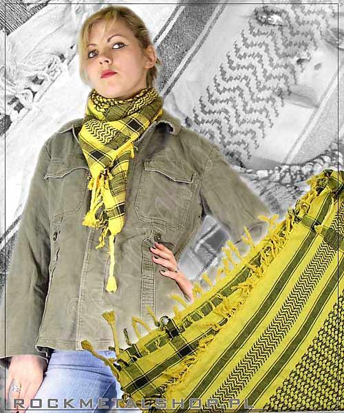 żółto-czarna arafatka
