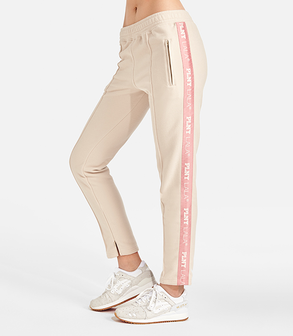 TEAM LALA CARAMEL TRACK PANTS