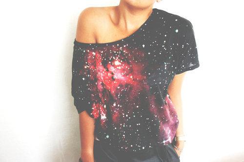 galaxy bluzka