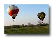 Widokowy lot balonem