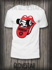 Męska koszulka TRASH desko-Rock'n'rollka