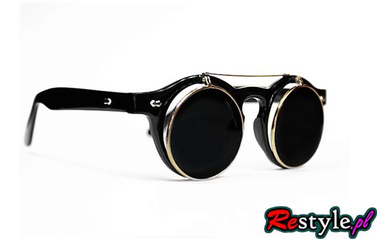 Okulary steampunk lenonki