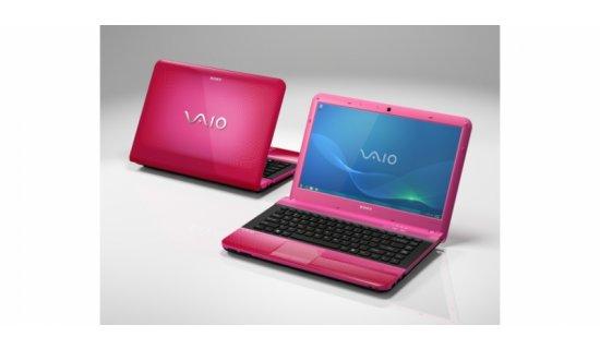 Sony Vaio - laptop (różowy lub biały)