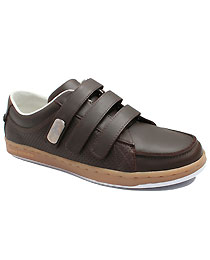 Creative RecreationThe Oil Brown Torrio Velcro Sneaker