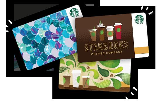 Karta podarunkowa do Starbucksa