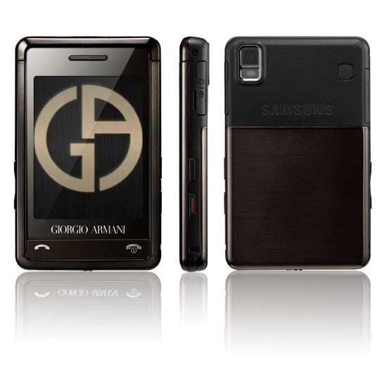 Telefon Samsung Armani P520